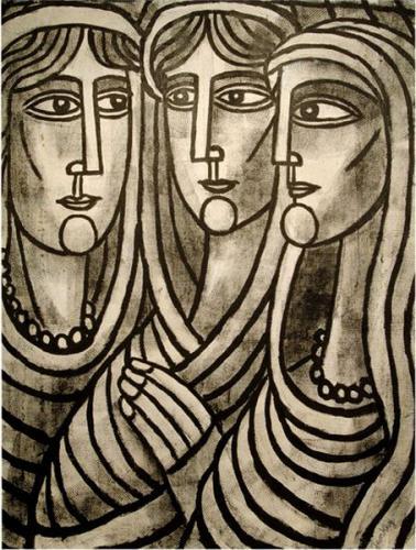 Tibor Jankay, The Three Graces.