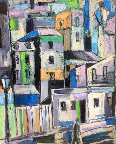Tibor Jankay, Streetscape.